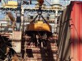 Fornitore della Cina di serie MW5 che alza elettro magnete per il trattamento degli scarti d'acciaio