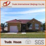 グループのためのカスタマイズされた軽いゲージの鉄骨構造のモジュラー建物か可動装置またはプレハブかプレハブの生きている家