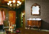 Festes Holz-Antike-einzelne Wannen-Badezimmer-Schränke
