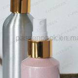 Botella de aluminio coloreada del rociador del perfume con la bomba del aerosol (PPC-ACB-040)