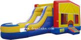コンボ屋外の膨脹可能な跳躍の城およびスライド