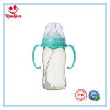 Широкая бутылка младенца ухода PPSU шеи с качеством еды Soother