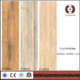 Tegel van de Vloer van het Ontwerp van de manier de Rustieke Houten Ceramische (P15601)