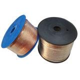 Cable transparente del altavoz Cable/PVC del coche/alambre eléctrico/cable de cobre