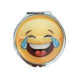 Espelho cosmético feito-à-medida por atacado de Emoji