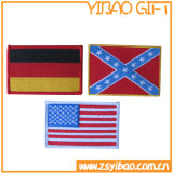 Вышивка Patch Promotional Gift национального флага для Clothing (YB-pH-05)