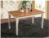 직사각형 테이블 및 의자를 식사하는 Solidwood 유럽 간단한 가구
