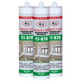 Pegamento adhesivo del silicón para la adherencia del plástico, del vidrio, del metal y del concreto