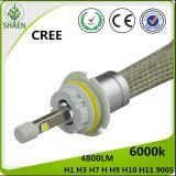 LEIDENE van gelijkstroom 12V CREE 20W H4 R3 AutoKoplamp