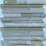 Les tuiles en verre et de pierre se sont mélangées (x34)