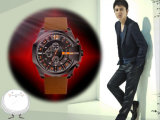 Form-neue Art-wasserdichte klassische Uhr-Geschäfts-Quarz-Uhr