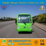 8 ventas directas de la fábrica de los asientos del coche de visita turístico de excursión eléctrico verde