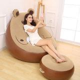 Sofa paresseux de sofa de bâti de salle de séjour d'ours gonflable d'intérieur de meubles