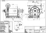 Stapel-Fahrer, Grube, Marine-freier Fall-hydraulische Handkurbel/hydraulische Fahrzeug-Wiederanlauf-Handkurbel-/Mooring Handkurbel/Zwischen-Handkurbel