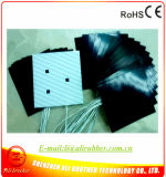 600*600*1.5mm 12V 550W Holes на Pad Black Silicone Heater