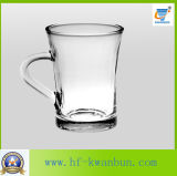 Precio barato determinado de la taza de cristal práctica de la alta calidad con la cristalería Kb-Hn086 de la maneta