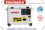 Tipo silencioso econômico gerador Diesel 6kVA 230V 192 Ym9500e do agregado familiar de Yarmax