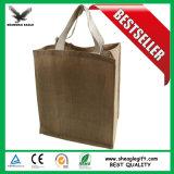 カスタム昇進の食料雑貨の自然なジュートのワイン袋