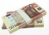 Valse Euro Munt met Teken voor het Spelen