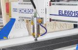 Высекать искусствоа 6015 скульптур деревянный, обшивает панелями автоматический автомат для резки, ось деревянного маршрутизатора высокую z CNC с регулятором Mach3