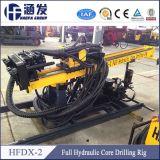 Carotaggio del cavo, in pieno impianto di perforazione di trivello portatile idraulico di memoria Hfdx-2 da vendere
