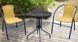 庭の家具のPEの籐椅子