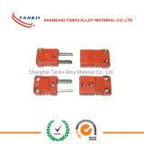 Connettori di termocoppia standard dell'ANSI di colore giallo (tipo K/E/T/N/S)