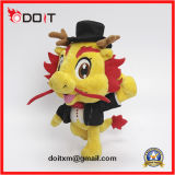 Custom Made Corporate Mascot Gentle Dragon Man Plush Toy