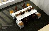 Cubículo del sitio de trabajo del centro de atención telefónica de Seater del rojo 6 para la pequeña oficina