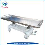 유압 스테인리스 장례식 제품 Autopay 방부 처리 테이블