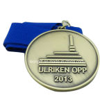 Medalhão feito sob encomenda do metal da alta qualidade do evento