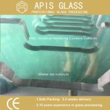 10mm 12mm Clear Transparent Tempered Float Glass for Shower Enclosures
