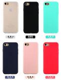 Caisse ultra mince de la matte TPU pour l'iPhone 7