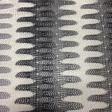 豪華なヤーン、編む厚い針はYarn-Dyedジャカードファブリックを歪める