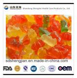 O PBF certificou a vitamina C/Mulitivitamin /Calcium do urso do OEM gomoso para crianças e adultos