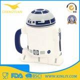 Caneca de café cerâmica barata do copo de chá de Star Wars com tampa