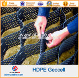 GeocellsのタイプおよびHDPEの高密度ポリエチレンの物質的なGeocellの価格