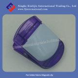 Clip magnetica di plastica promozionale della clip magnetica dell'appunto del supporto della penna