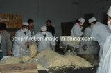 A produção de fritadas francesa da batata Frozen faz à máquina linha Frozen dos cubos da batata