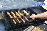 Ligneurs faciles réutilisables de four de natte de BBQ de nettoyage