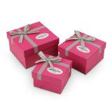 Caixa de presente de papel do chocolate/doces que empacota com fita