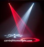 Feixe luminoso principal movente de DMX 6PCS com um feixe do diodo emissor de luz do teste padrão
