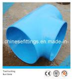 Instalaciones de tuberías rectas de acero de aleación de la te de la autógena de tope