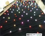Занавес звезды SMD5050 RGB /White СИД для выставки свадебного банкета ткани фона этапа