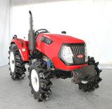 水田の車輪が付いている高品質55HPのトラクター