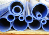 Tube personnalisé de silicones, boyau de silicones, tuyauterie de silicones, tissu du polyester 4ply renforcé par pipe de silicones