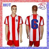 Overhemd van het Voetbal van de Voetbal van de Opleiding van de Voetbal van mensen het Sneldrogende