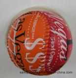 Basebol de couro personalizado do PVC da promoção
