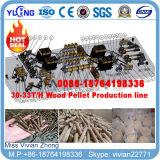 planta quente da pelota da madeira de combustível da biomassa da venda de 10t/H China