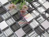 Mosaïque en aluminium de décoration de mur de modèle moderne de mélange en cristal (CFA88)